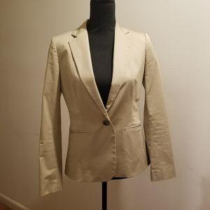 Beige/tan blazer size 4